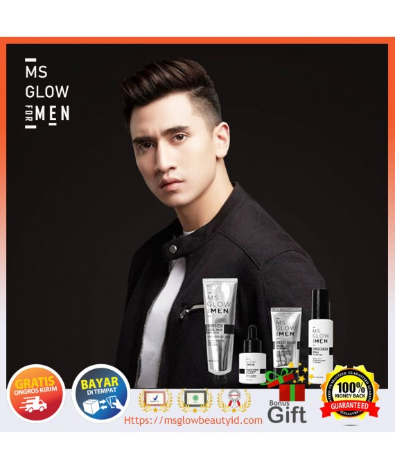 Ms glow For Men Original|Paket wajah pria
